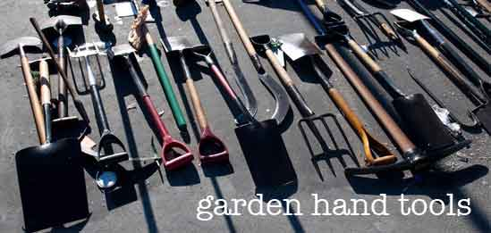 Gardening Hand Tools for Planting and Cultivating